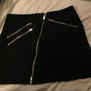 H&M Skirts - Zipper Mini Skirt